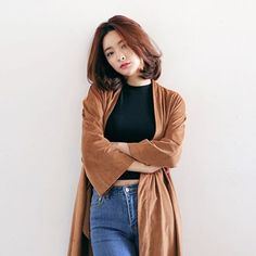 Stylenanda (this model reminds me of choi youngjae) Girl Outfits, Casual Outfits, Cute Outfits, Fashion Outfits, Womens Fashion, Fashion Trends, Mode Ulzzang, Ulzzang Girl, Ulzzang Fashion