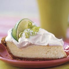 I made Ina Garten's Frozen Key Lime Pie this weekend.  It was AMAZING!  Read the reviews, eat immediately out of the freezer or it melts fast. SO GOOD.