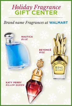 Save $4 on brand name fragrances! If you're giving fragrance gift sets for holiday gifts this season, make sure to save $4 with the printable coupon on the Walmart Holiday Fragrance Gift Center!