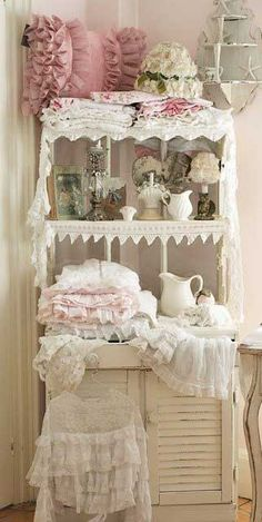 Inspiration for miniatures, so frilly and pretty