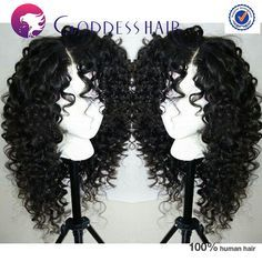 Brazilian full lace wig curly human hair wigs glueless full lace human hair wigs black color cheap wig human hair RPG show