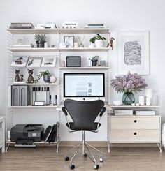 Home Office changes (Spring 2017)   www.my-full-house.com   Top Scandinavian Interior and Lifestyle Blog