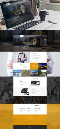 Wordpress Developers on Behance, webdesign, website, UX, wordpress, clean, modern