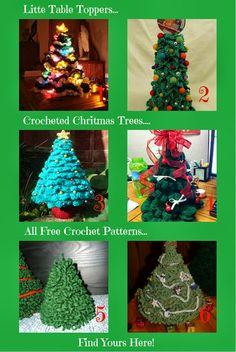 Sanderella's Crochet Blog: *Christmas trees crochet free patterns*