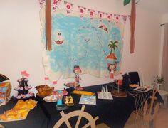 Festa de aniversário, pirata Jake