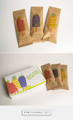 organic and tasty fruit and veggie popsicles