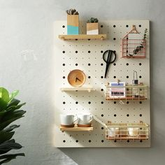 Wooden Pegboard, Steel Pegboard, Pegboard Display, Paper Furniture, Memory Games For Kids, Healthy Living Magazine, Paper Houses, Scandinavian Design, Wall Design