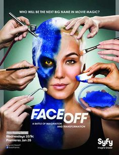 Face off - one of the only reality tv shows I like