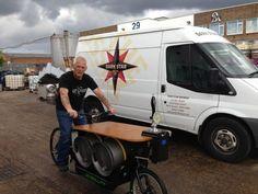 Dark Star Brewery beer bike
