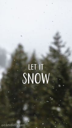 Let it snow, snow nature background wallpaper you can download for free on the blog! For any device; mobile, desktop, iphone, android!