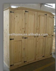 corona 4 door arch top wardrobe