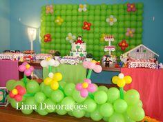 Decoração Clean - Balões - Jardim