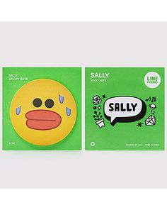 K2POP - LINE BRAND STORE OFFICIAL GOODS : SALLY STICKY NOTE II