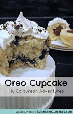 My Epicurean Adventures: Vanilla Oreo #Cupcakes