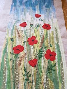 One off piece of textile art