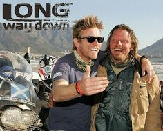 """""""The Long Way Round"""" & """"The Long Way Down"""" - Ewan MacGregor & Charlie Boorman - You must get Netflix simply for these seasons. Wonderful, candid, heart-warming, and honest.  Good stuff!"""