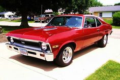 Cherry Red SS Nova or Chevelle