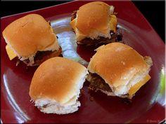 Whitecastle Burgers ~ homemade sliders