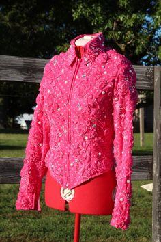 Sittin Pretty Show Clothing 2013.  Western Pleasure or showmanship jacket! Sittin Pretty Show Clothing on FB!