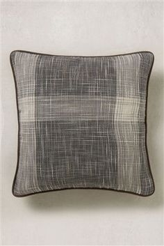 Buy Small Astley Check Cushion With Faux Leather Piping from the Next UK online shop