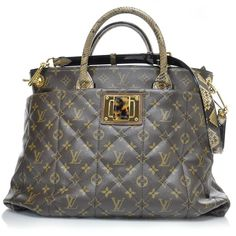 LOUIS VUITTON Monogram Etoile Exotique Python Tote Bag - handbags online shopping, navy purse, leather purses on sale *sponsored https://www.pinterest.com/purses_handbags/ https://www.pinterest.com/explore/hand-bags/ https://www.pinterest.com/purses_handbags/cheap-purses/ http://www.justfab.com/handbags.htm