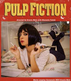 Mia Wallace from Pulp Fiction #umathurman #pulpfiction #quentintarantino #movies #cosplay