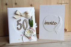 scrapbooking wedding card
