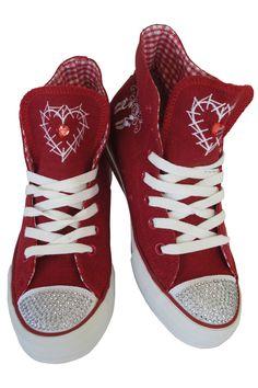 Rote Sneaker für die Wiesn von Krüger