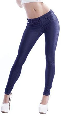 Fraternel Damen Jeans Hose Girlfriend Kurzes Bein Hellblau M