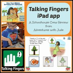 Talking Shapes iPad app (A Schoolhouse Crew Review) #prek #literacy #prewriting #iPad