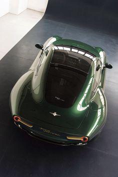 "gashetka: "" 2013 | Alfa Romeo Disco Volante by Touring | Source """