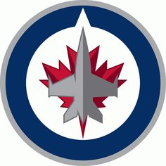 The hockey fan in your life can show team support with the machine washable Fan Mats NHL Hockey Round Puck Indoor Rug . This hockey puck-shaped rug features. Jets Hockey, Hockey Logos, Ice Hockey Teams, Nhl Logos, Hockey Puck, Sports Logos, Hockey Stuff, Sports Teams, Hockey Rules