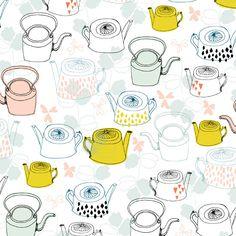 Flora Waycott_Copper Kettles #graphic#design#colors#interiors#minimal#