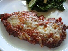 Pie Birds, Buttons and Muddy Puddles: Chicken Parmesan