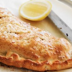 Chicken, pumpkin, cheese and spinach calzone recipe, brought to you by MiNDFOOD.