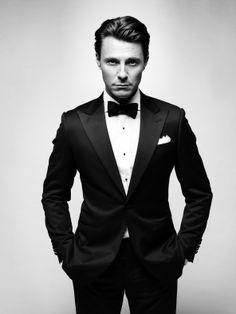 perfect black tie