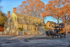 Historic Carriage rides in Colonial Williamsburg