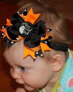 NEW ITEM Boutique Baby Girls Layered Ghost by CamdynReeseHeadbands, $7.50