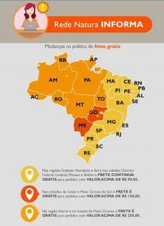 Prezados clientes, fiquem atentos à nova política de frete para compras online na Rede Natura. Qualquer dúvida entrem em contato. Obrigada pela preferência e continuem comprando online de todo o Brasil seus produtos preferidos no meu espaço da Rede Naturawww.redenatura.net/espaco/suellen_ga | Suellen Pereira - Consultora Natura Digital E-mail: suellen.natura@outlook.com Whatsapp: (81) 99303-6728 Instagram: @suellen.natura Facebook: www.facebook.com/natura.suellen.consultora #cosmeticos…
