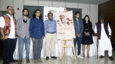 """Telling the tale of salt-water tide and seashore dwellers, the trailer and the poster of Rezwan Shahriar Sumit's directorial debut """"Nonajoler Kabbo"""" was unveiled today at a press meet at the capital's Dhaka Club. The film will be released on November 26 on all theatres of Star Cineplex."""