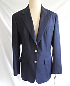 BRIONI Blazer Trophy Deadstock with Tag Navy Polo Jacket Custom Couture 12 | eBay