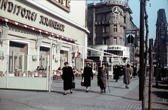 Berlin | Kudam. Cafe Kranzler