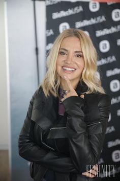 Speváčka Dara Rolins priznáva, Divas, Winter Jackets, Celebrity, Leather Jacket, Fashion, Studded Leather Jacket, Moda, Fashion Styles, Leather Jackets