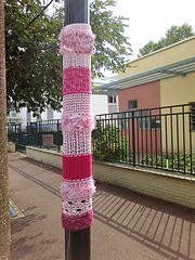 Ravelry: Sicilienne's Projet de Yarn bombing Graffilaine 2015