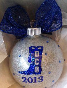 Christmas ornament drill team ornament by Cheer Gifts, Team Gifts, Christmas Gifts, Christmas Ornaments, Christmas Stuff, Christmas Decor, Christmas Ideas, Xmas, Holiday Decor