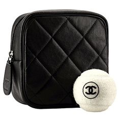 @FrancenePerel: #Chanel Ball Caddy and Ball!  #Chanel adds new Sport items for Spring 2012