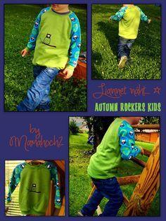 Mamahoch2: Autumn Rockers KIDS Größe 98-146 Freebook (leger und slim)
