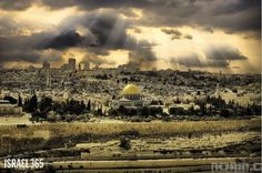 The Temple Mount, is also referred to as Har HaMoriah, or Mount Moriah.