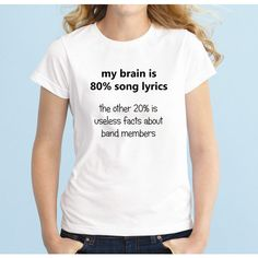 80 Song Lyrics Fashion Band T-Shirt Fan Girl Shirt 5sos 5 Seconds of... ($15) ❤ liked on Polyvore featuring tops, t-shirts, black, women's clothing, long t shirts, loose t shirt, slim fit t shirts, long sleeve t shirts and collared shirt