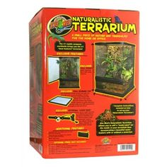 Natural Terrarium 12X12X18